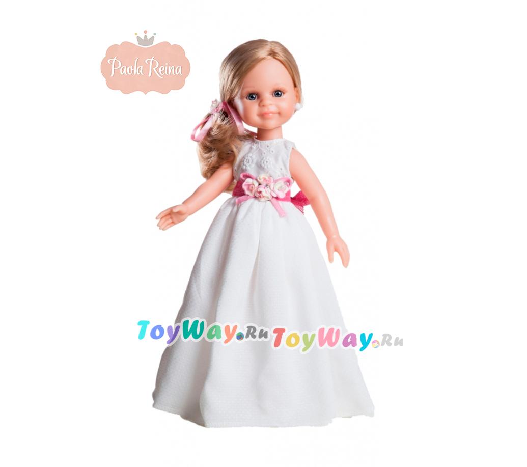 Кукла Клэр, 32 см.Испанские куклы Paola Reina (Паола Рейна)<br>Кукла Клэр, 32 см.<br>