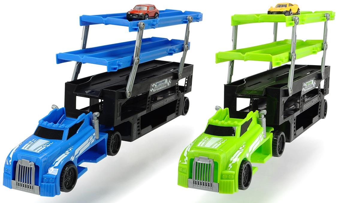 Купить Автовоз для хранения машинок – 5 уровней, 1 машинка в комплекте, Dickie Toys