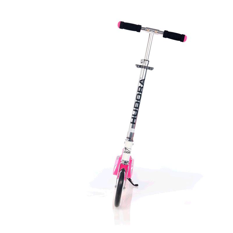 Купить Складной 2х колесный самокат Big Wheel RX-Pro 205, pink / розовый, Hudora