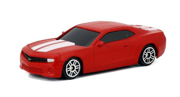 Купить Металлическая машина - Chevrolet Camaro, 1:64, матовый красный, RMZ City