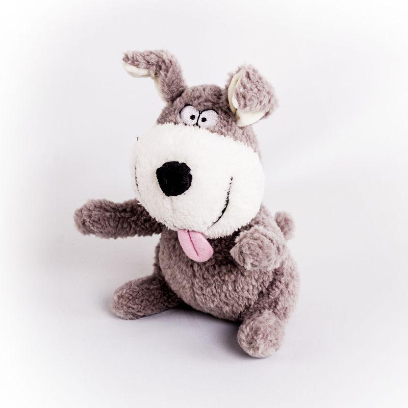Купить Мягкая игрушка - Собака Улыбака, 22 см, Button Blue