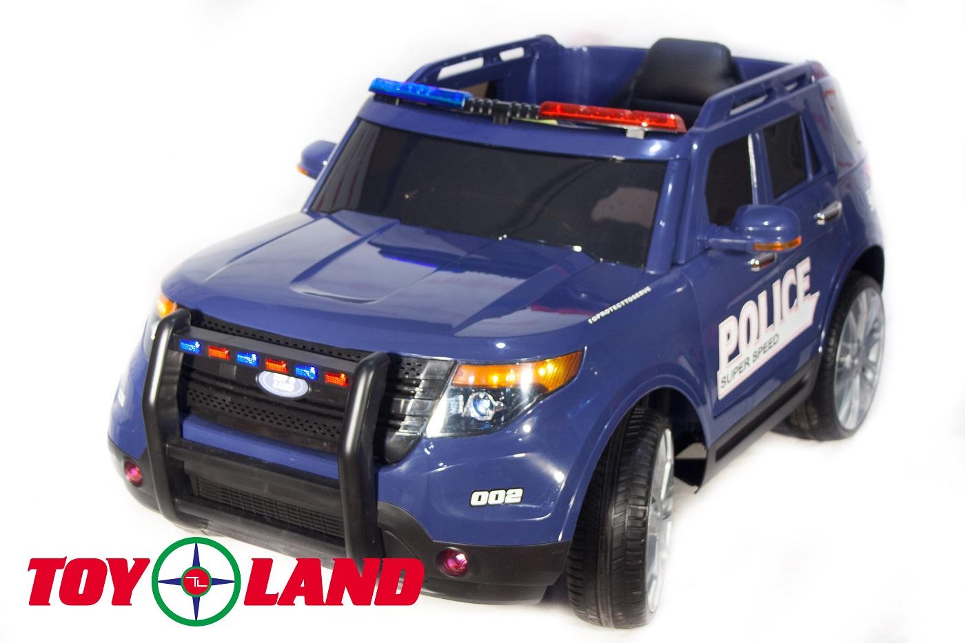 Купить Электромобиль Ford Police ch9935, синего цвета, ToyLand