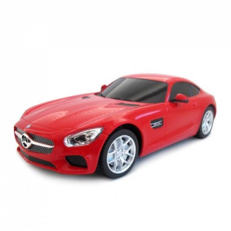 Купить Машина на р/у - Mercedes AMG GT3, красный, 1:24, Rastar