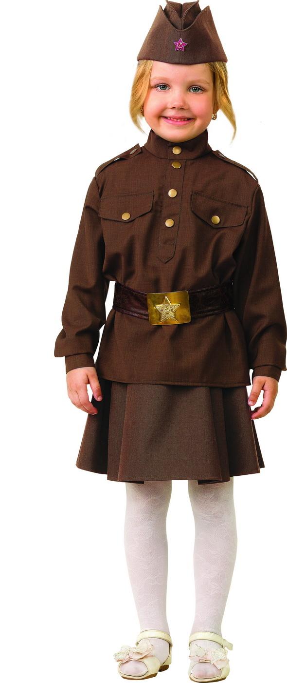 Костюм - Солдатка, размер 110-56 фото