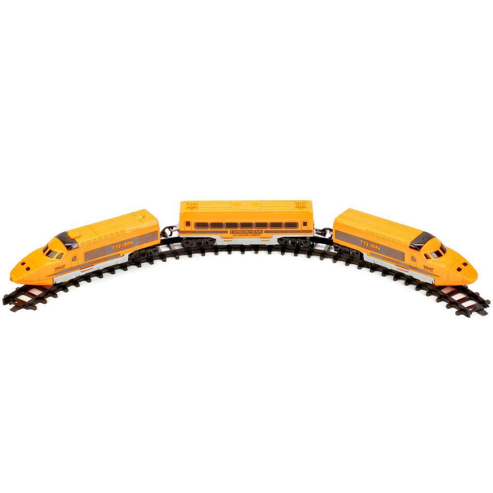 Купить Железная дорога на батарейках JHX9911, 263 см, свет и звук