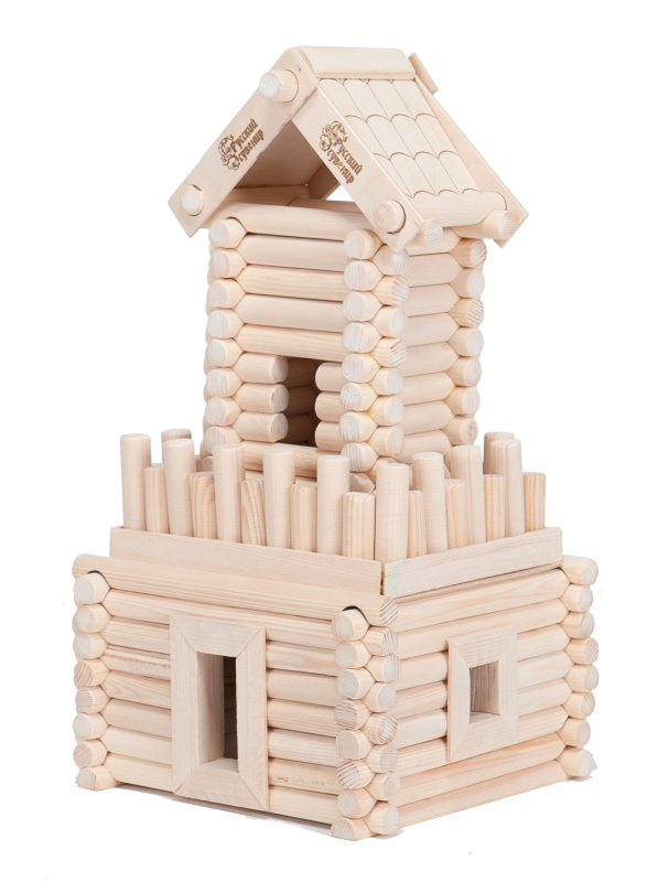 Деревянный конструктор – БашняДеревянный конструктор<br>Деревянный конструктор – Башня<br>