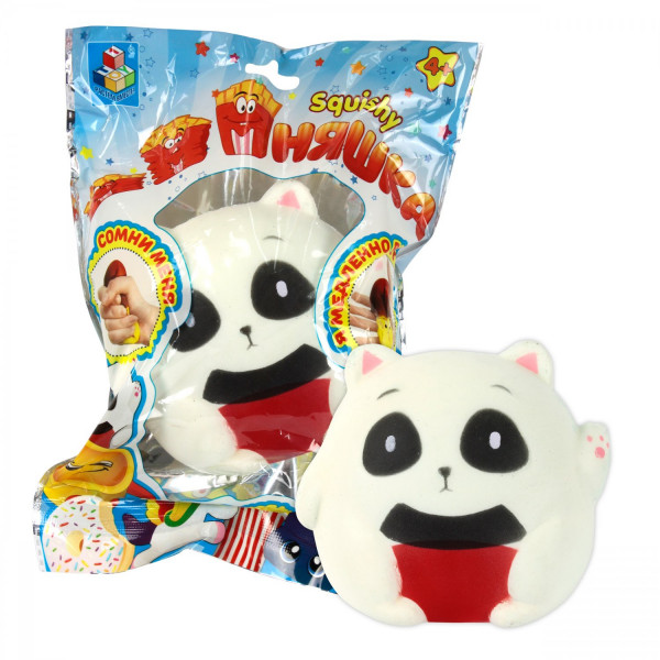 Игрушка-антистресс из серии Мммняшка squishy сквиши – Панда