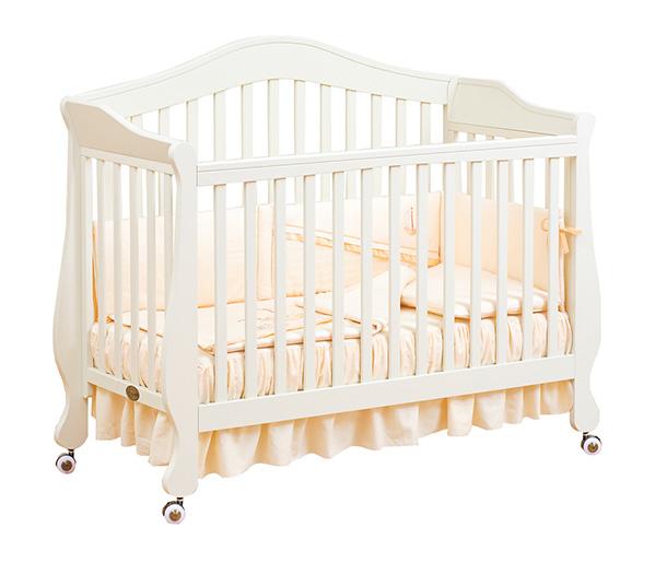 Кроватка для новорожденных Belcanto Lux, цвет слоновая костьДетские кровати и мягкая мебель<br>Кроватка для новорожденных Belcanto Lux, цвет слоновая кость<br>