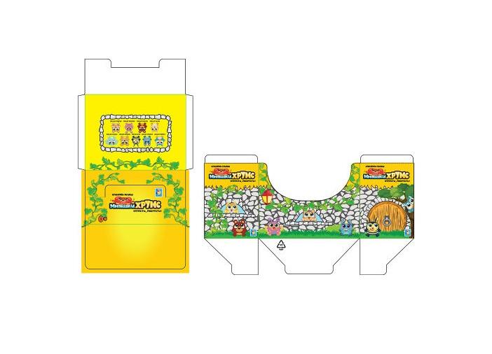 Дисплей-бокс для мягких игрушек Мняшки Хрумс 12 см.