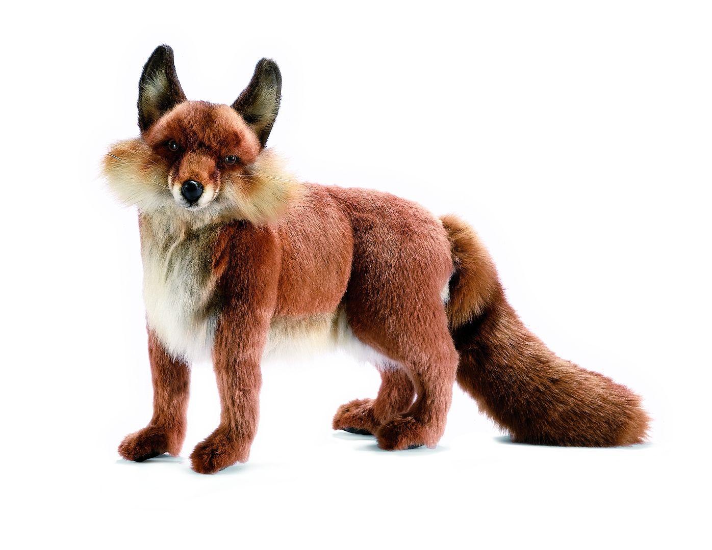 Лисица рыжая, 62 смБольшие игрушки (от 50 см)<br>Лисица рыжая, 62 см<br>