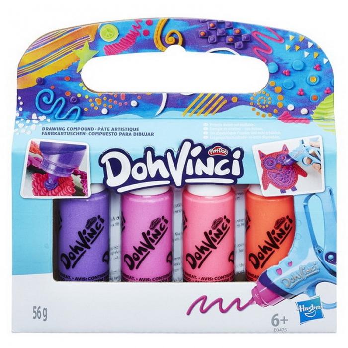 Купить Картриджи для творчества из серии Dohvinci, 4 штуки, Hasbro
