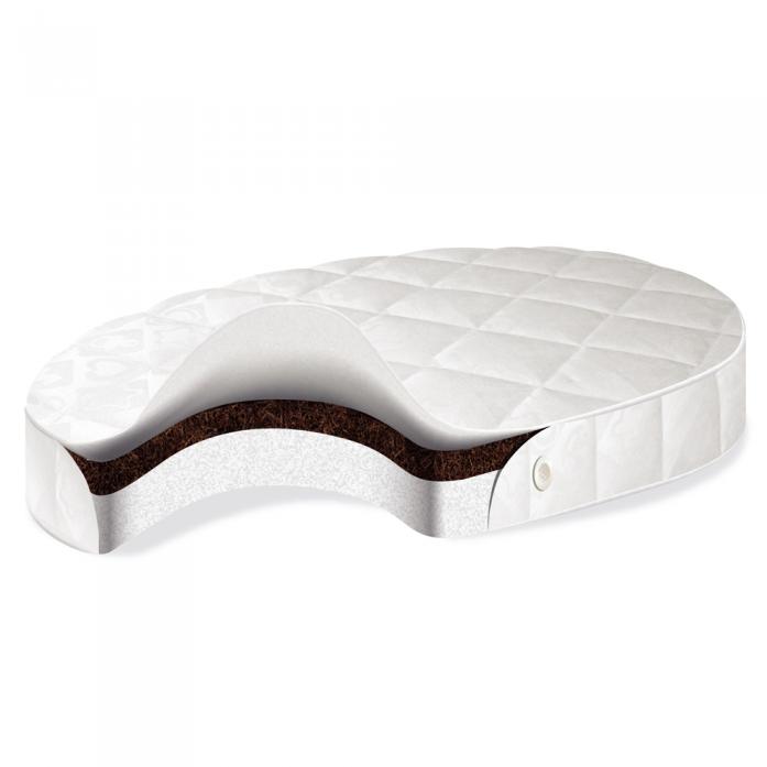 Матрас BabySleep Nido Magia Form Cotton, размер 125 х 75 см.Матрасы, одеяла, подушки<br>Матрас BabySleep Nido Magia Form Cotton, размер 125 х 75 см.<br>
