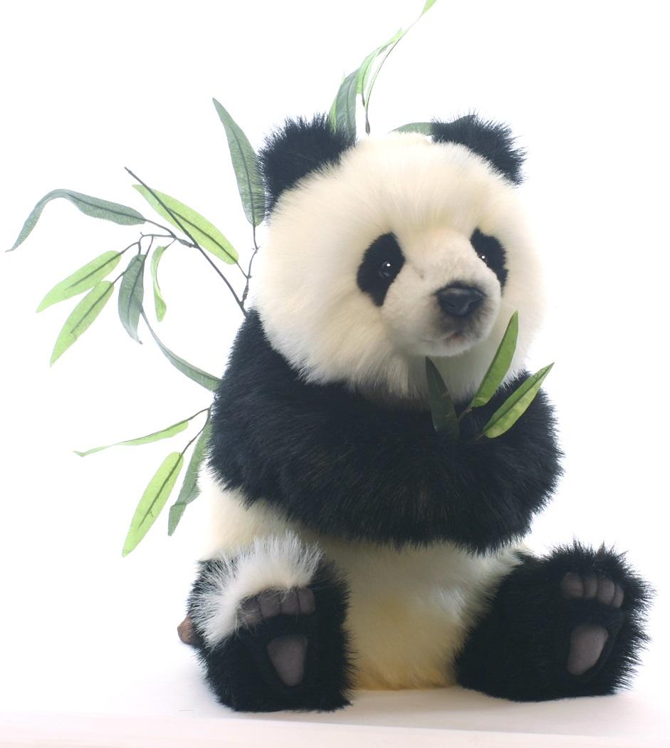Мягкая игрушка - Детеныш панды, сидячий, 41 смДикие животные<br>Мягкая игрушка - Детеныш панды, сидячий, 41 см<br>