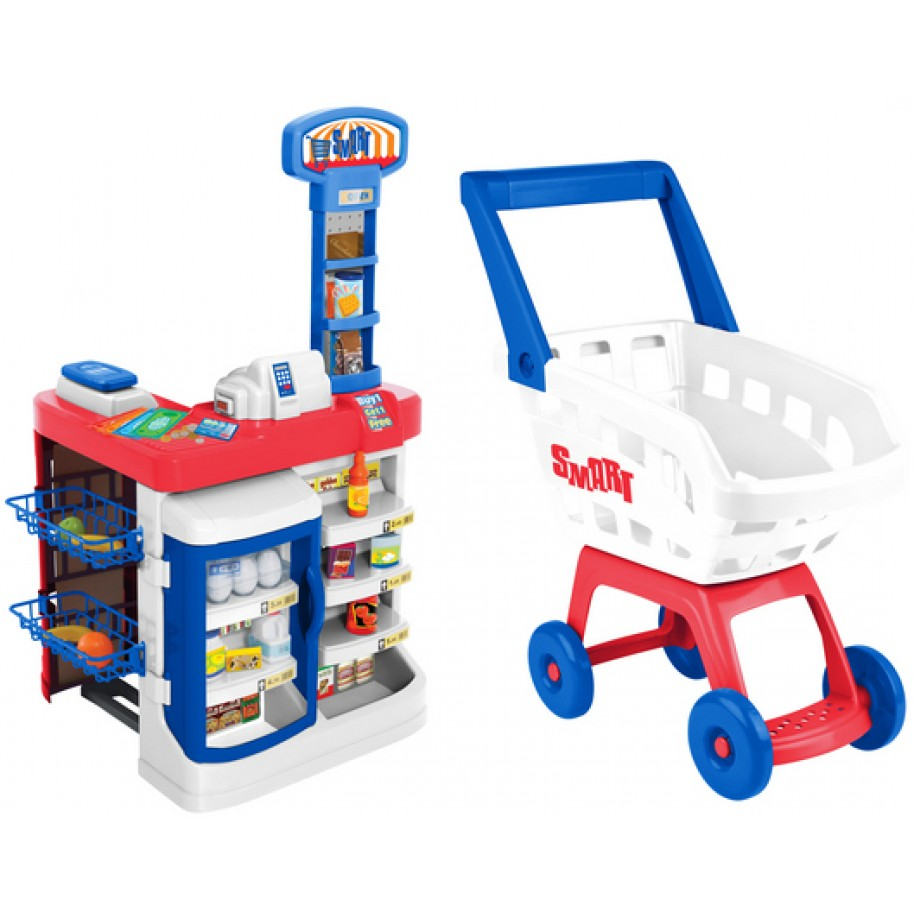 Игровой набор - СупермаркетДетская игрушка Касса. Магазин. Супермаркет<br>Игровой набор - Супермаркет<br>