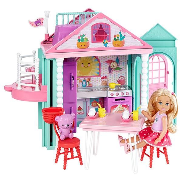 Mattel Barbie. Домик ЧелсиКуклы Barbie (Барби)<br>Mattel Barbie. Домик Челси<br>