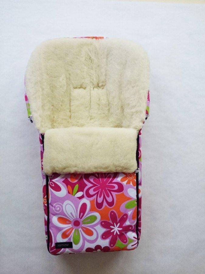Спальный мешок в коляску №06 Aurora, цвет – 14 цветки