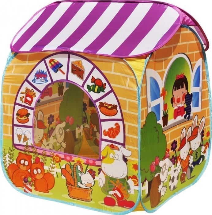 Купить Игровой домик - Детский магазин + 100 шариков CBH-32 желтый, Ching-Ching