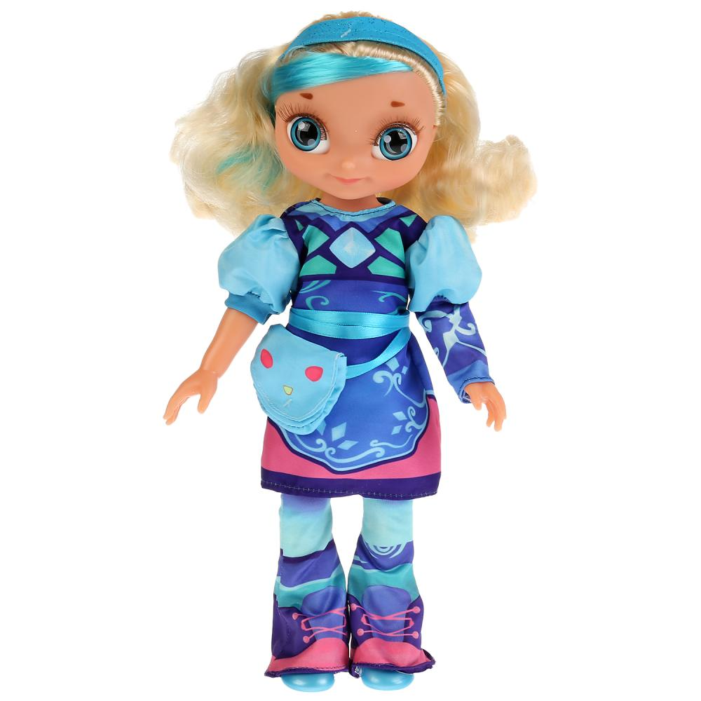 Купить Кукла озвученная из серии Сказочный патруль - Снежка 32 см в стиле кэжуал, 15 песен и фраз, Карапуз