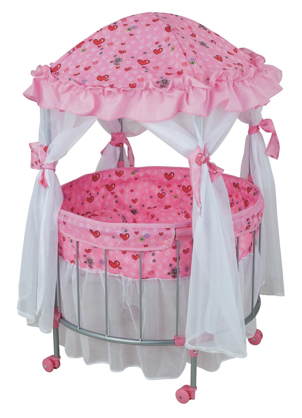 Детская кроватка-манеж для куклы - Детские кроватки для кукол, артикул: 9019