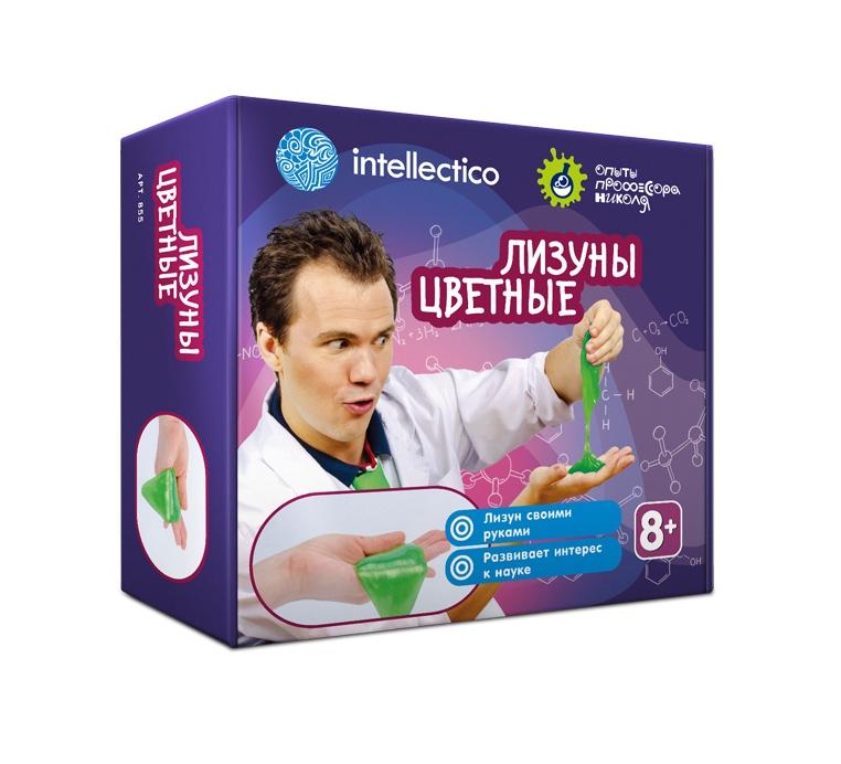 Купить Набор химика - Лизуны цветные, Intellectico