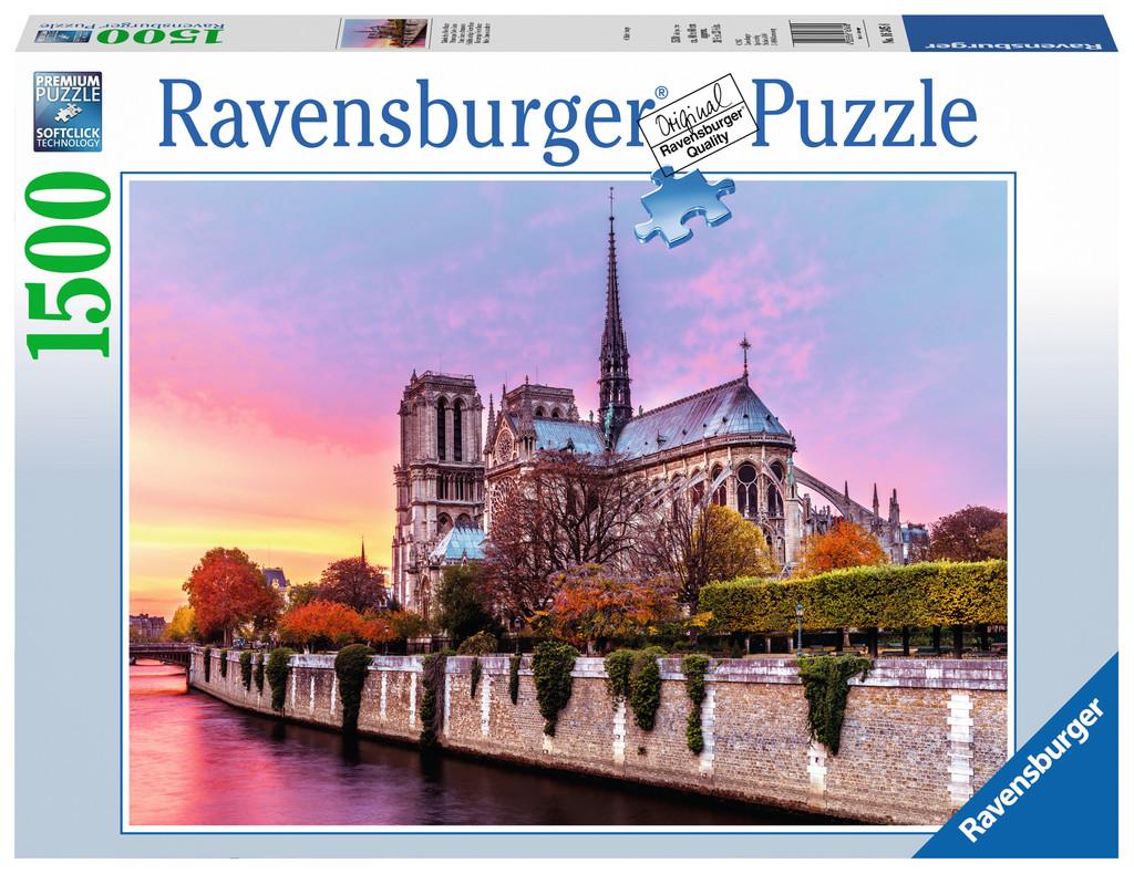 Купить Пазл Нотр Дам, 1500 элементов, Ravensburger