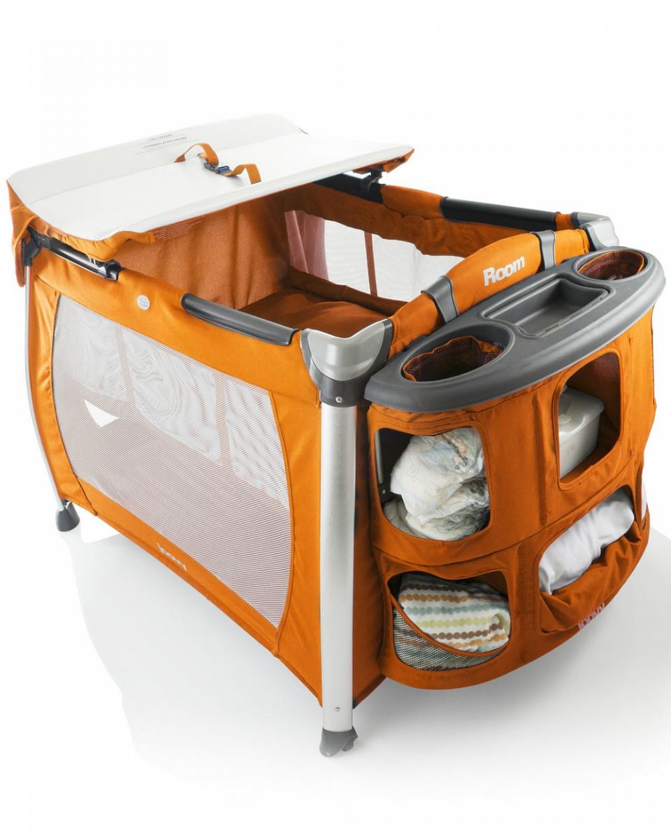 Купить Манеж-кровать Joovy Room оранжевый