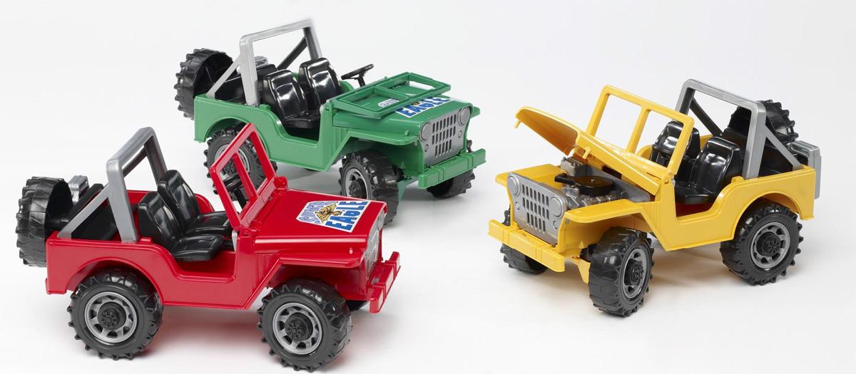 Маленький джип Bruder Land RoverЭвакуаторы и внедорожники<br>Маленький джип Bruder Land Rover<br>