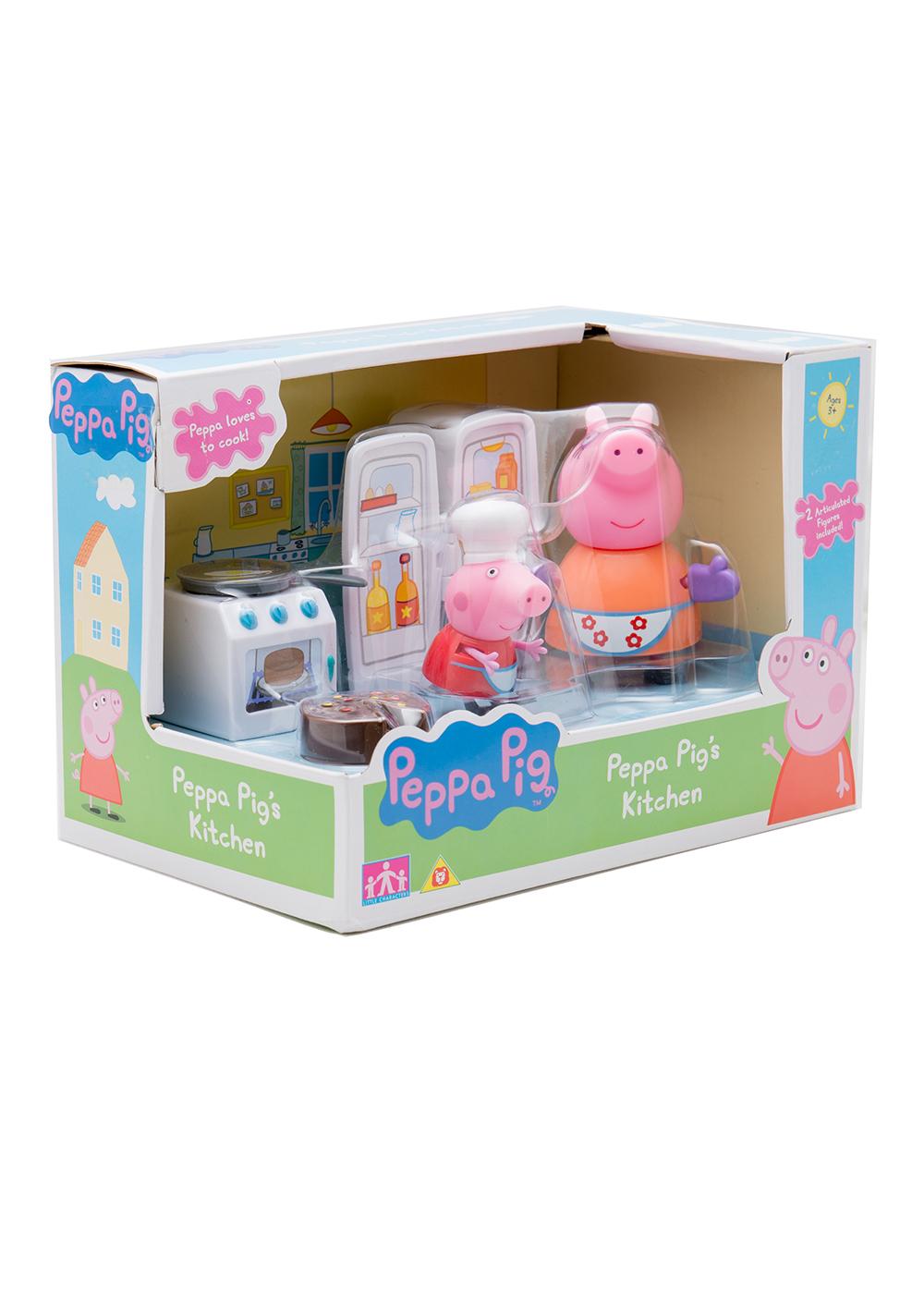 Купить детскую кухню свинка пеппа