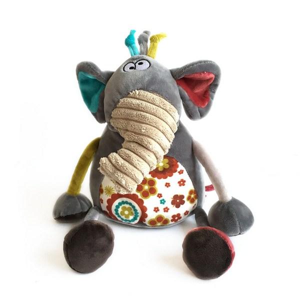 Мягкая игрушка – Слоник Робби, 22 см.Животные<br>Мягкая игрушка – Слоник Робби, 22 см.<br>