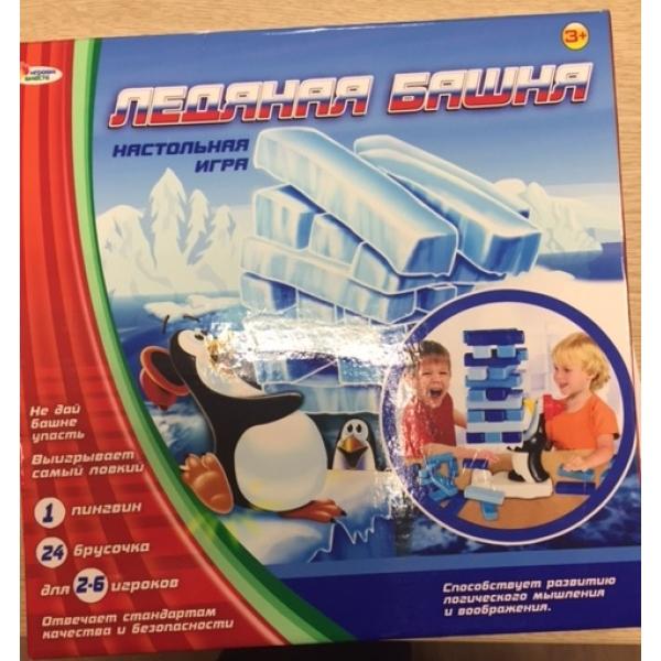 Настольная игра - Ледяная башняДженга<br>Настольная игра - Ледяная башня<br>