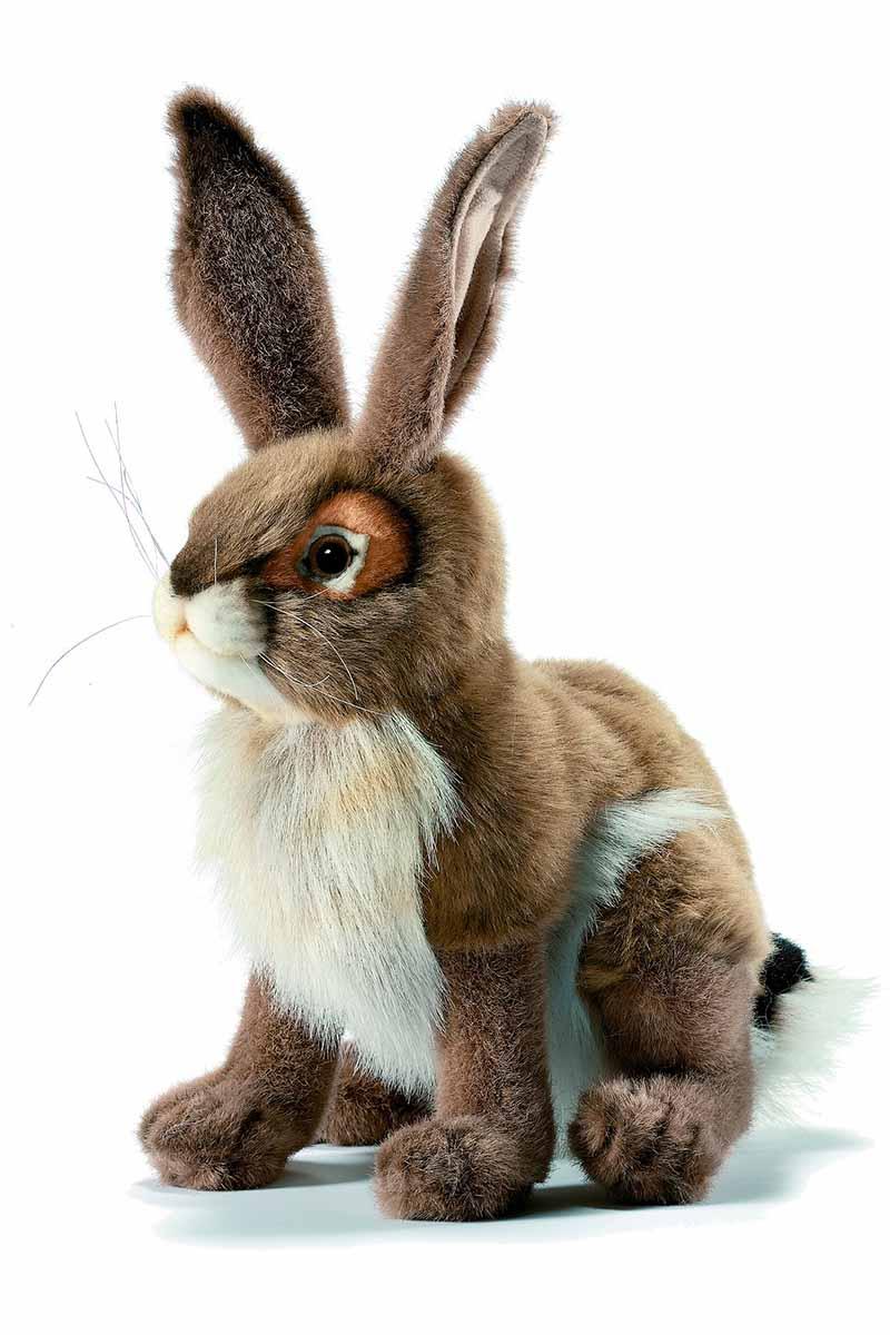 Чернохвостый заяц, 30 смДикие животные<br>Чернохвостый заяц, 30 см<br>