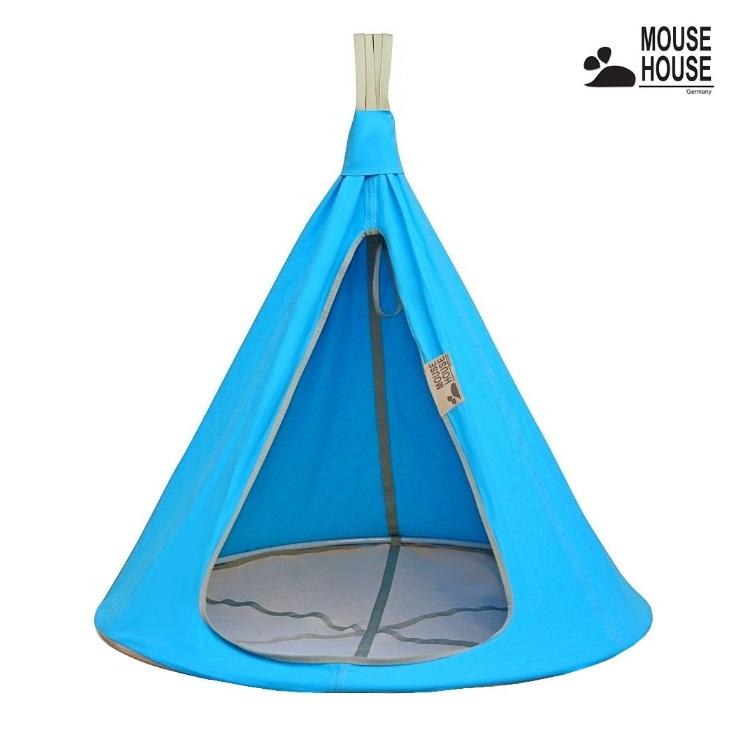 140-01 Гамак Mouse House – Бирюза, диаметр 140 смДомики-палатки<br>140-01 Гамак Mouse House – Бирюза, диаметр 140 см<br>