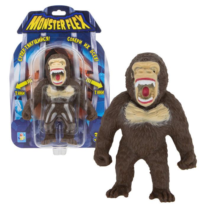 Купить Тянущаяся фигурка Monster Flex - Орангутан, 15 см, 1TOY