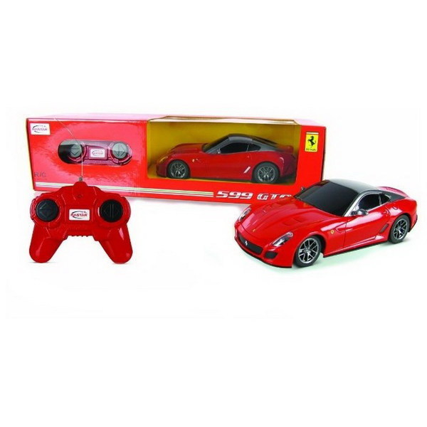 картинка Машина р/у 1:24 - Ferrari 599 GTO, цвет красный от магазина Bebikam.ru