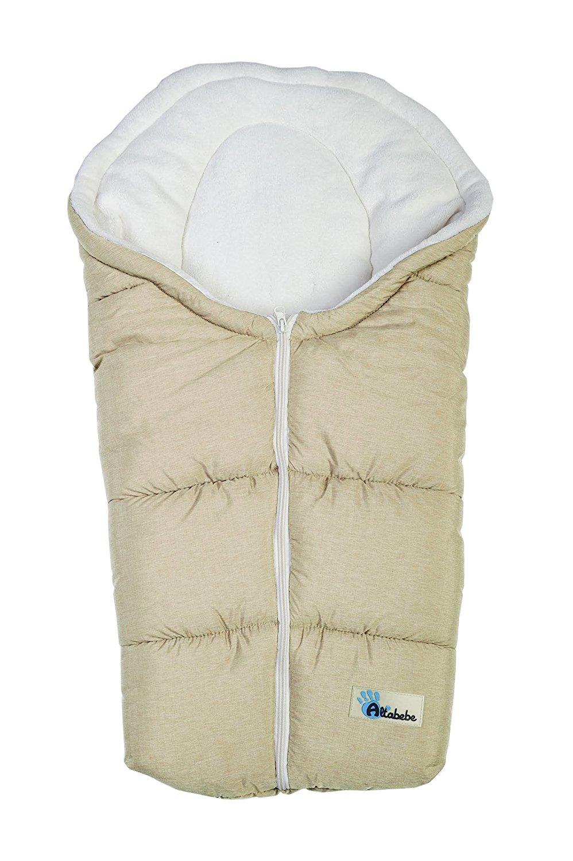 Зимний конверт Alpin Pram & Car seat, beige/whitewash Altabebe