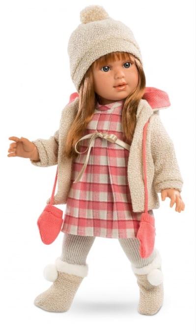 Кукла Мартина с рыжими волосами, 40 см.Испанские куклы Llorens Juan, S.L.<br>Кукла Мартина с рыжими волосами, 40 см.<br>