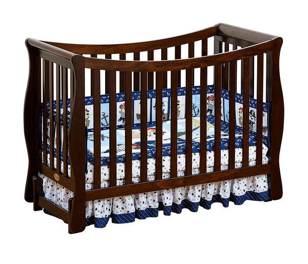 Кроватка для новорожденных Fresco, цвет chocoloДетские кровати и мягкая мебель<br>Кроватка для новорожденных Fresco, цвет chocolo<br>