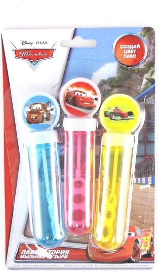 Набор цветных мыльных пузырей «Тачки»CARS 2 (Игрушки Тачки 2)<br>Набор цветных мыльных пузырей «Тачки»<br>