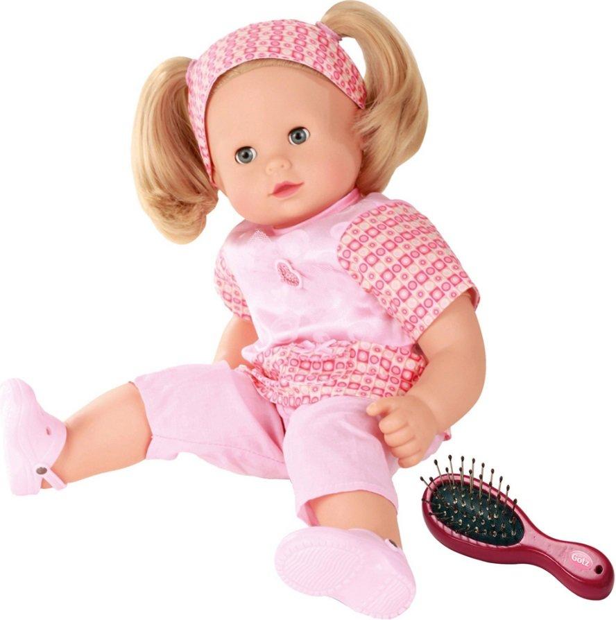 Купить Кукла в розовом - Макси-Маффин, блондинка, 42 см, Gotz