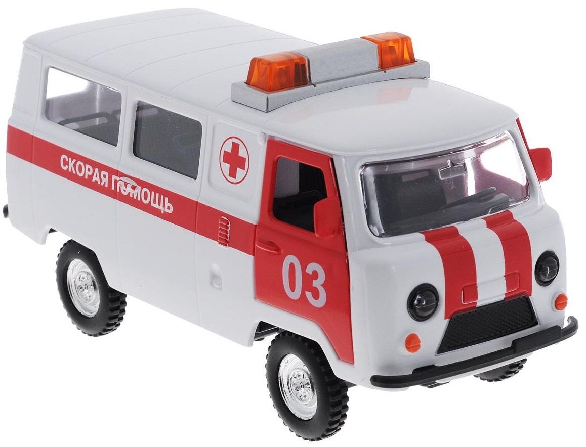 Машина УАЗ-452 Скорая помощь, свет, звукУАЗ<br>Машина УАЗ-452 Скорая помощь, свет, звук<br>