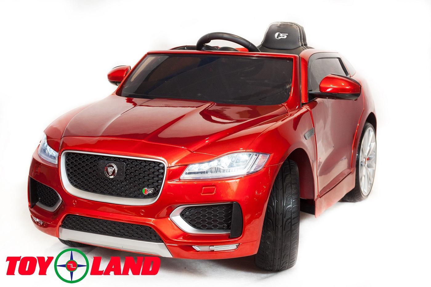 Электромобиль - Jaguar F-Pace, красный, свет и звук фото
