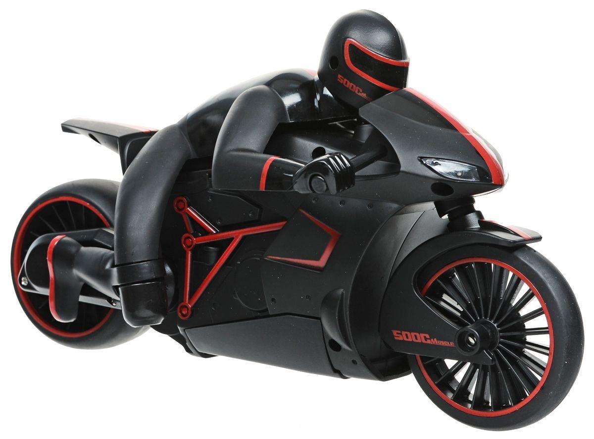 картинка Мотоцикл с гонщиком на р/у - Драйв, аккумулятор 6V, красный от магазина Bebikam.ru