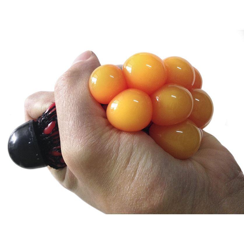 Стрессбол Жмяка красно-оранжевыйЖвачка для рук<br>Стрессбол Жмяка красно-оранжевый<br>