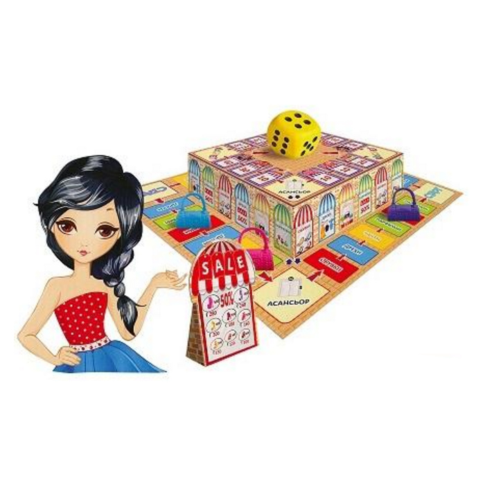 Настольная игра Шопинг терапияИгры для компаний<br>Настольная игра Шопинг терапия<br>