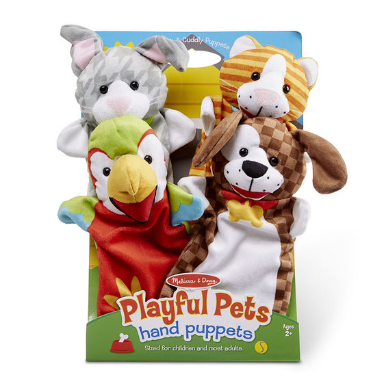 Плюшевые куклы на руку – Животные по цене 1 772