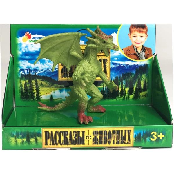 Купить Фигурка из пластизоля Дракон 7 х 8 х 7, 5 см, Играем вместе