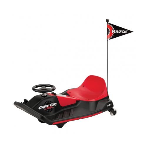 Электро-карт RAZOR Crazy Cart Shift, чёрный, 021505Электромобили, детские машины на аккумуляторе<br>Электро-карт RAZOR Crazy Cart Shift, чёрный, 021505<br>