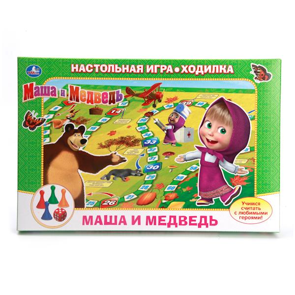 Настольная игра-ходилка «Маша и медведь»