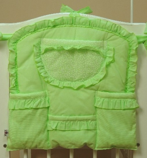 Карман на кроватку – Светик, зеленыйДекор и хранение<br>Карман на кроватку – Светик, зеленый<br>