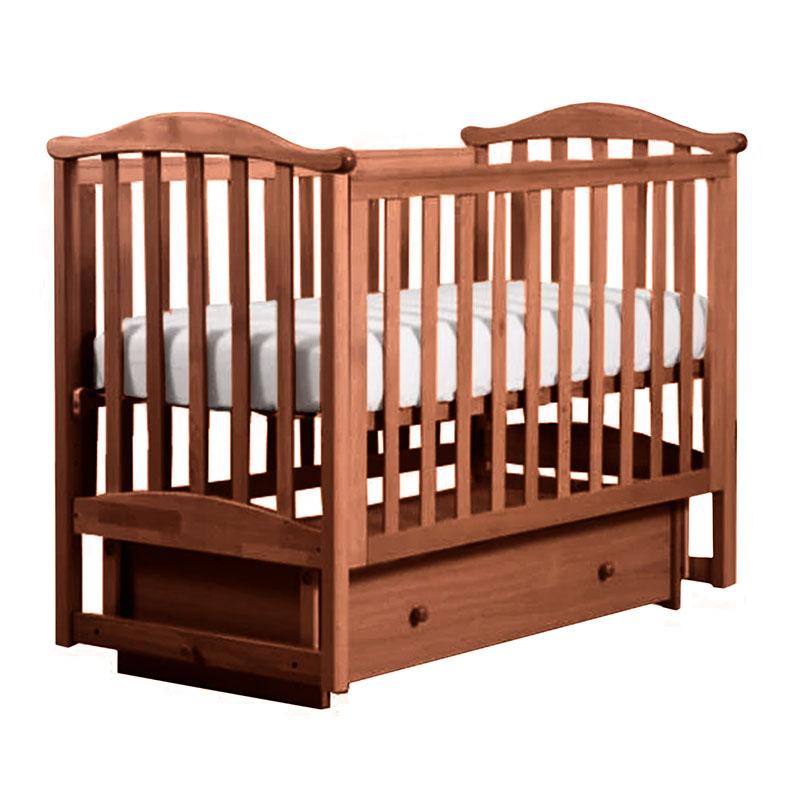 Кровать детская Лель АБ 25.2 Виола, орех